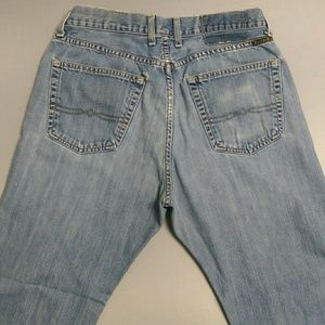 Lucky Brand Blue Jeans Size 32 Straight Leg AB